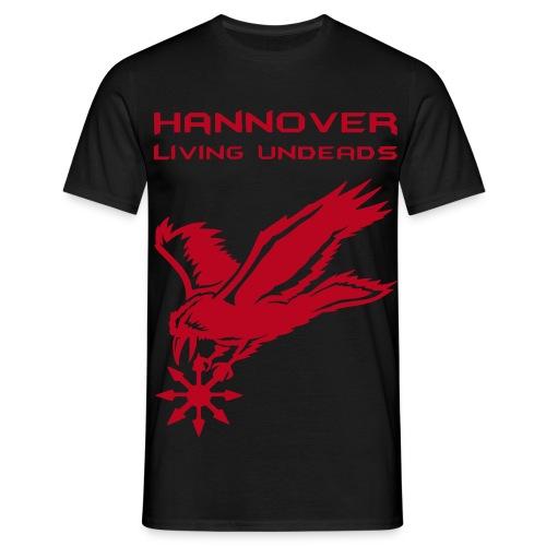 Männer T-Shirt klassisch  HLU+Banner Sample - Männer T-Shirt