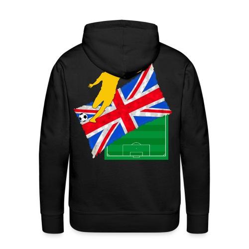 uk football sweatshirt - Men's Premium Hoodie