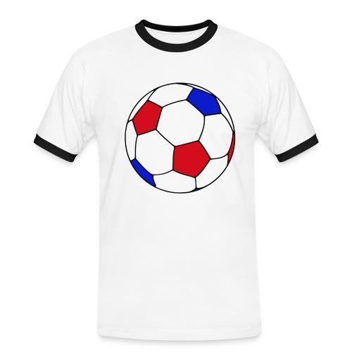 Ballon de foot - T-shirt contrasté Homme