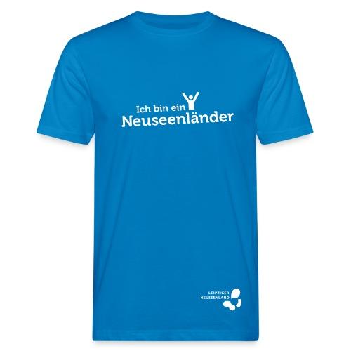 Männer Bio-T-Shirt Neuseenländer - Männer Bio-T-Shirt