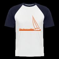 Magliette ~ Maglia da baseball a manica corta da uomo ~ T-shirt The Best Sailor