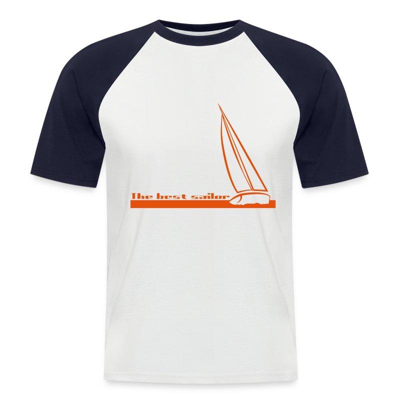 T-shirt The Best Sailor - Maglia da baseball a manica corta da uomo