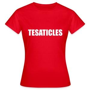 Tesaticles  - Women's T-Shirt