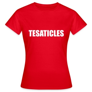 Tesaticles  - Women's T-Shirt