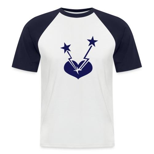 Tshirt - Mannen baseballshirt korte mouw