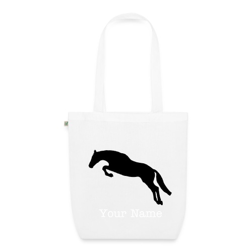 Jumping Horse Organic Shopping Bag - EarthPositive Tote Bag