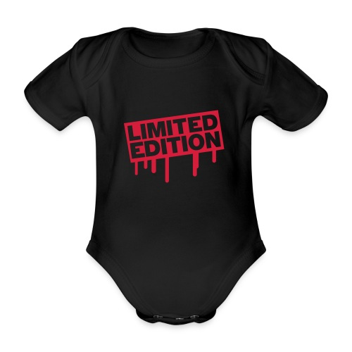 Limited Edition - Organic Short-sleeved Baby Bodysuit