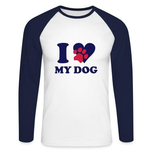 teresa McGuire  - Men's Long Sleeve Baseball T-Shirt