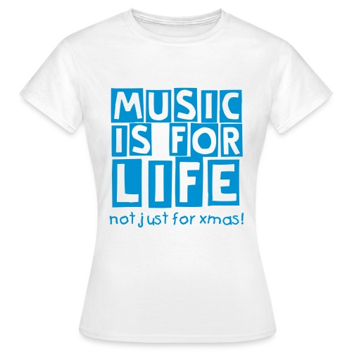 music life (F) - Women's T-Shirt