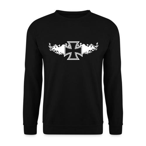 sw-flamingcross - Männer Pullover