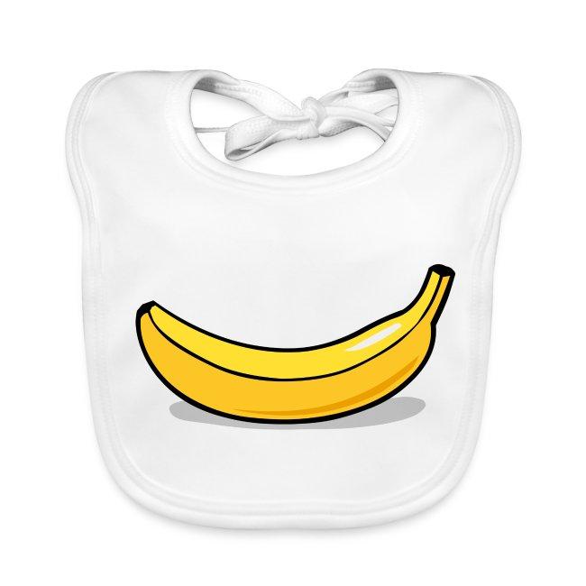 slabbetje (bio) met blije banaan