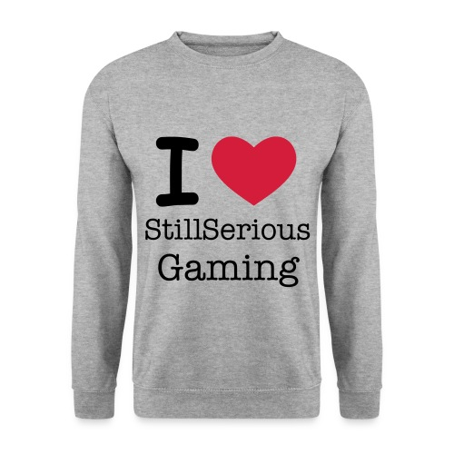 Hvid StillSeriousGaming Herre Sweater - Herre sweater