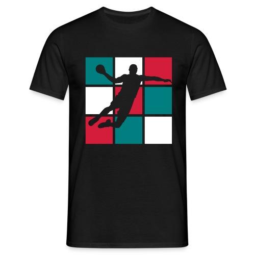 Handball, allez les bleus... - T-shirt Homme