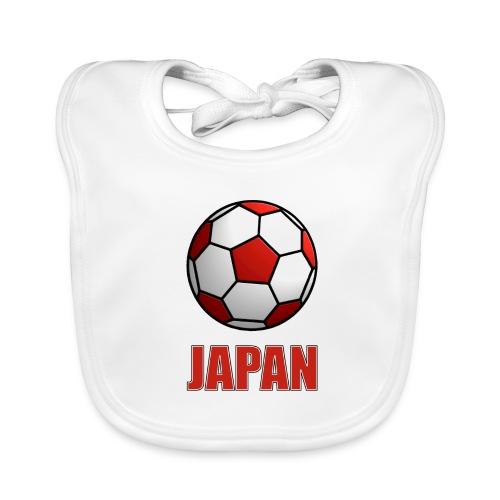 Baby Bio Lätzchen Japan der Fussballnation - Baby Bio-Lätzchen