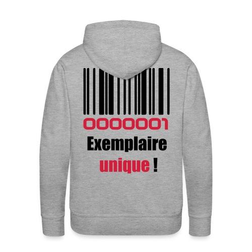 Exemplaire unique    Homme - Sweat-shirt à capuche Premium pour hommes