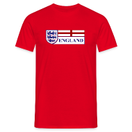 T-Shirts ~ Men's T-Shirt ~ ENGLAND 3LIONS
