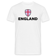 T-Shirts ~ Men's T-Shirt ~ ENGLAND SHIELD
