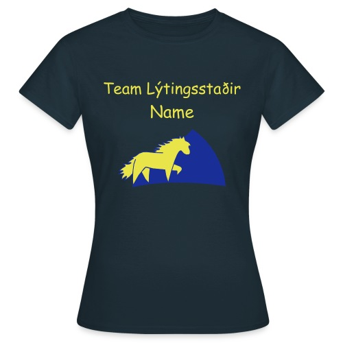 Team T-Shirt - Frauen T-Shirt