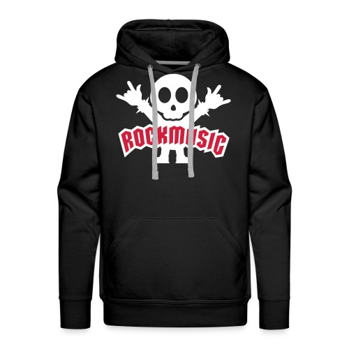 Fan Hoodie Rock - Männer Premium Hoodie