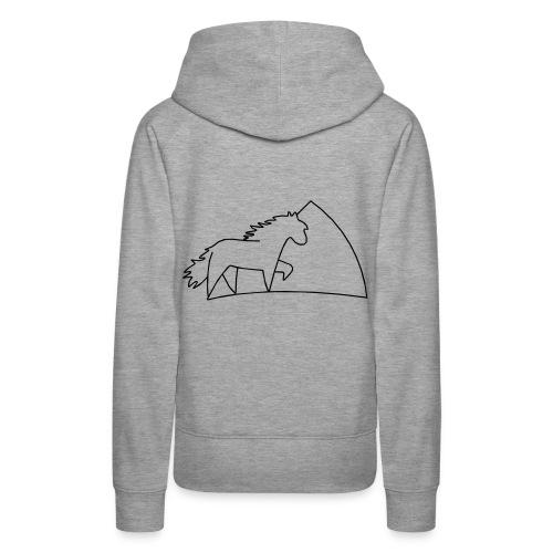 Damen Kaputzenpulli/woman hooded pullover - Frauen Premium Hoodie