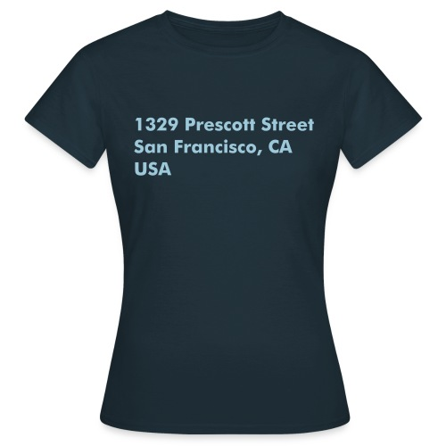 Address Series #7 (insp. by Charmed) - T-shirt Femme