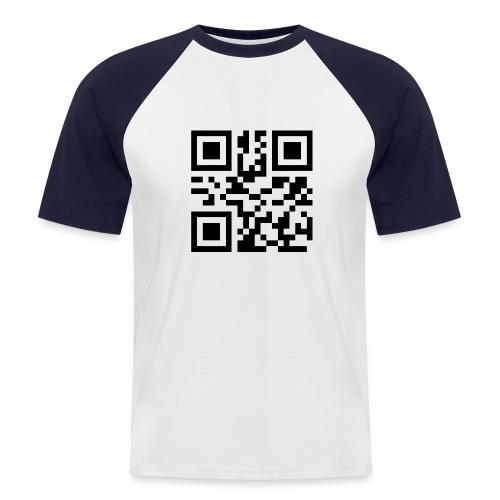 FICKEN? - Kontrast-Shirt Man - Männer Baseball-T-Shirt