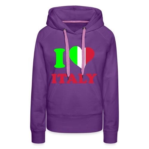 italie - Vrouwen Premium hoodie