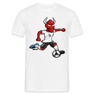 T-Shirts ~ Männer T-Shirt ~ Fußballer Oxe