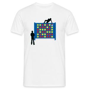 Connected - White - Men's T-Shirt