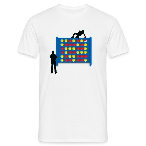 Connected - White - Men's T-Shirt