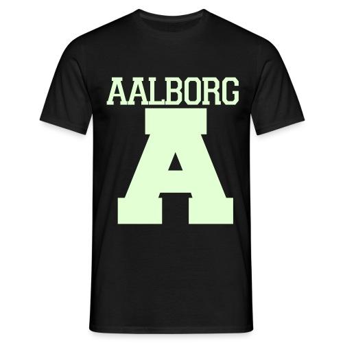 Aalborg Selvlysende (Glow In Dark) - Herre-T-shirt