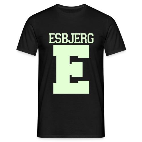 Esbjerg Selvlysende (Glow In Dark) - Herre-T-shirt