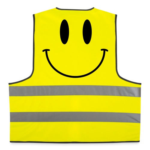 Acid Smiley Hi Viz - Reflective Vest