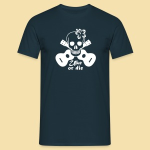 Menshirt: Uke or die for women (Motiv: weis) - Männer T-Shirt