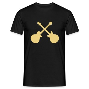 Helliver Guitars Crossed Single/Double T-Shirt - Männer T-Shirt