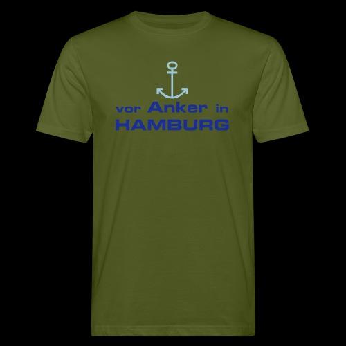 Vor Anker in Hamburg - Männer Bio-T-Shirt