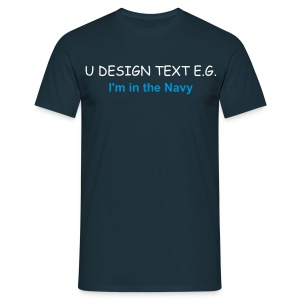 Advertise your business, email your logo to studio@udesign.co.uk today - Men's T-Shirt