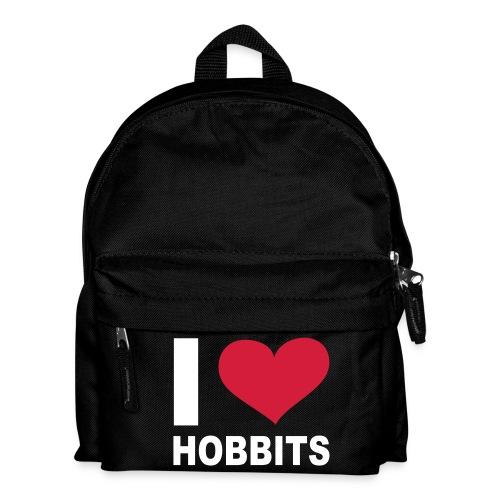 Taske - I LOVE HOBBITS - Rygsæk til børn