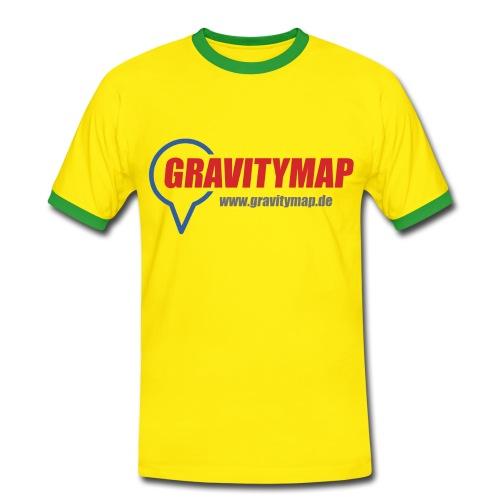 Männer Bicolor - Männer Kontrast-T-Shirt