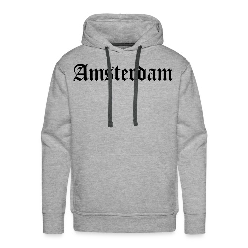 SWEATER MANNEN AMSTERDAM - Mannen Premium hoodie