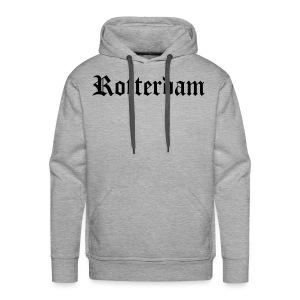SWEATER MANNEN ROTTERDAM - Mannen Premium hoodie