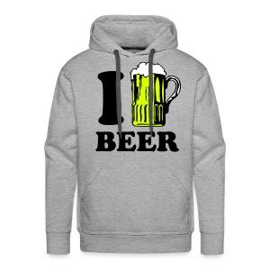 MANNEN SWEATER BEER - Mannen Premium hoodie