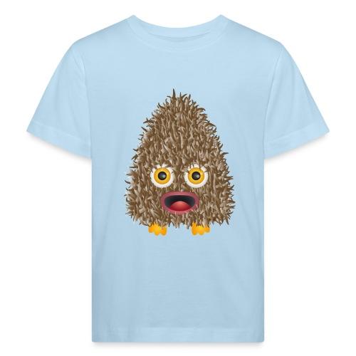 Funshirt Wuschelmonster Eule - Kinder Bio-T-Shirt