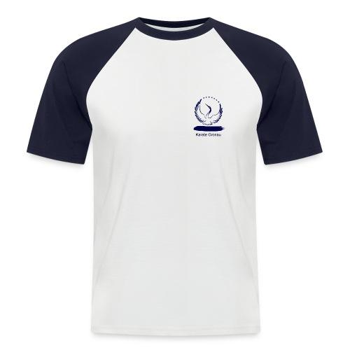 Karate Gronau (Männer-T-Shirt) - Männer Baseball-T-Shirt