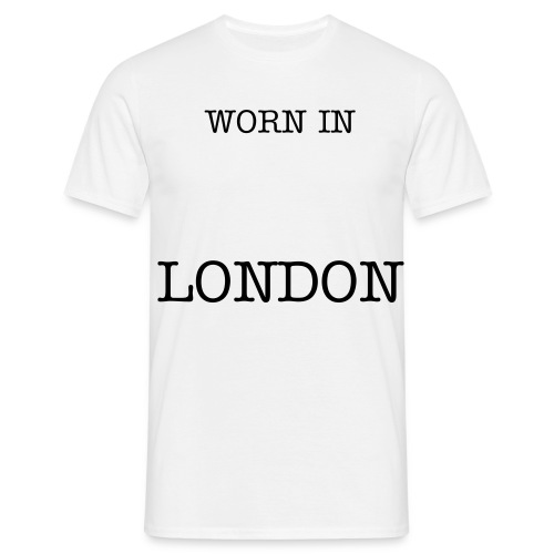 Worn In London - Men's T-Shirt