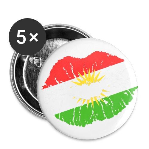Kurdistan Rosseten  Biji Kurdistan   - Buttons klein 25 mm
