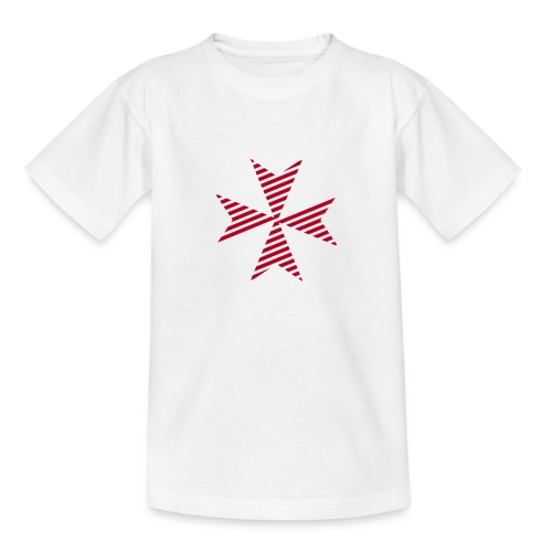 Maltese Cross White - Kinder T-Shirt