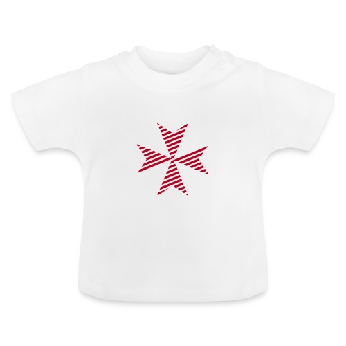 Maltese Cross White - Baby T-Shirt