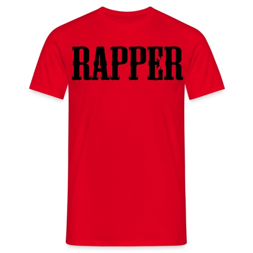 Shirt Rapper Rood - Mannen T-shirt
