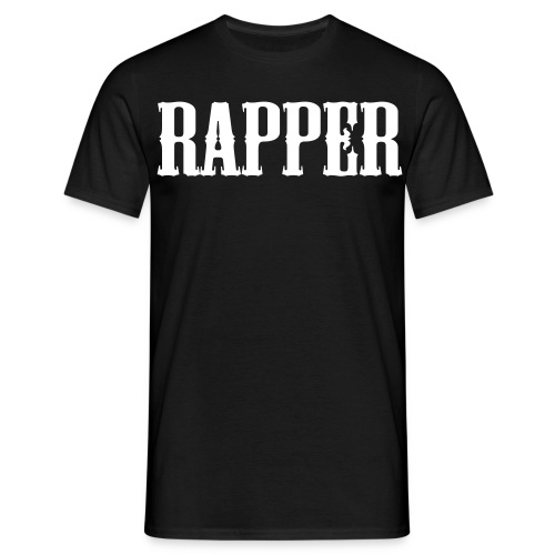 Shirt Rapper Zwart - Mannen T-shirt